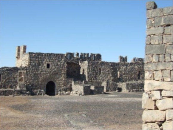Azraq Castle, interesting tourist sites Jordan