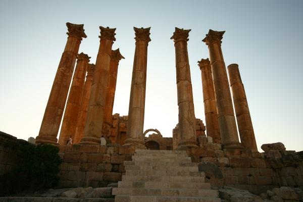 Jerash, Roman city, interesting tourist sites Jordan