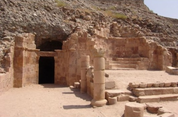 Lot's church, interesting tourist sites Jordan