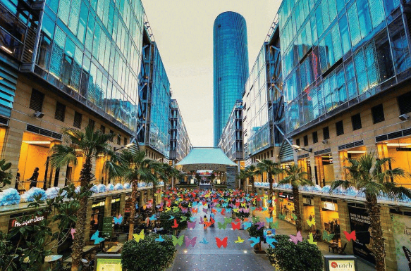 A walk through Abdali – Amman's new shopping and leisure district