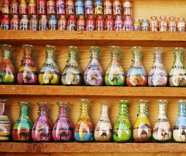 Sand bottles Jordan